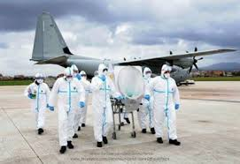 Esercitazione ebola