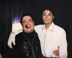 Michael Jackson e Frank Di Leo