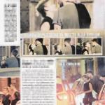 Emma e Borriello bacio