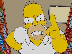 Marge e Homer si separano