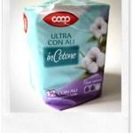 Recensione buoni prodotti: Assorbenti in cotone Coop