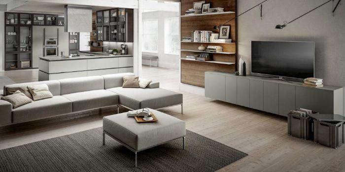Per creare un soggiorno funzionale e confortevole, potete pensare di inserire un divano a l con un. 4 Consigli Per Cucina E Soggiorno Open Space Casa Planner Architettura D Interni Roma
