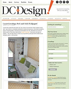 Read profiles of Casart Peel and Stick Wallpaper in a variety of Blogs