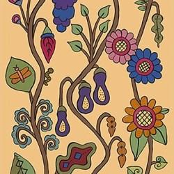 Kristin Nicholas - Garden Feast_Casart coverings temporary wallpaper