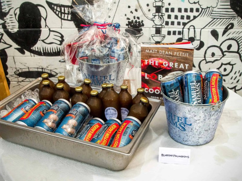 Stop Being So SHELLFISH! #LobstahPalooza2015 — An Adventure in Atlantic Ambrosia! — Samuel Adams Boston Lager and Thomas Lavers Ginger Beer