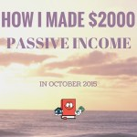 Real Estate Passive Income Report – October 2015