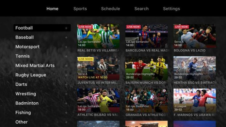 A list of sporting events to watch