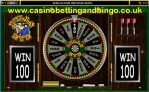 Wheel of Wealth on Bulls Eye