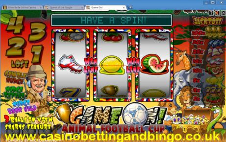 Game On Fruit Machine
