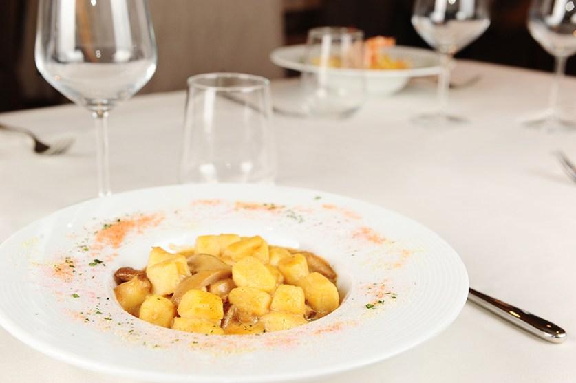 Restaurant Carat gnocchi