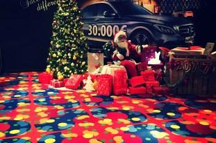 Babbo Natale al Safir