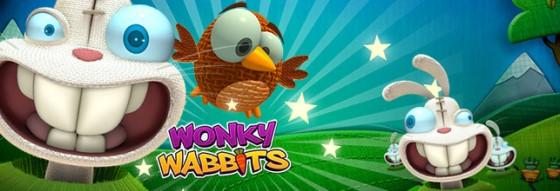 Spilleautomaten Wonky Wabbits