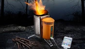 Biolite – Cocina que aprovecha la energía del fuego para cargar dispositivos