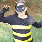 5 Minute DIY Bee Costume