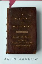 A History of Histories by John Burrow; design by Jason Booher (Knopf, April 2008)