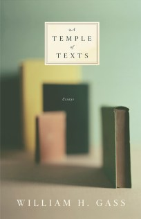 The Temple of Texts by William Gass; design by Gabriele Wilson (Knopf, February 2006)