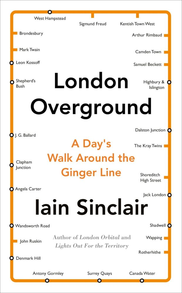 London Overground design by Richard Bravery