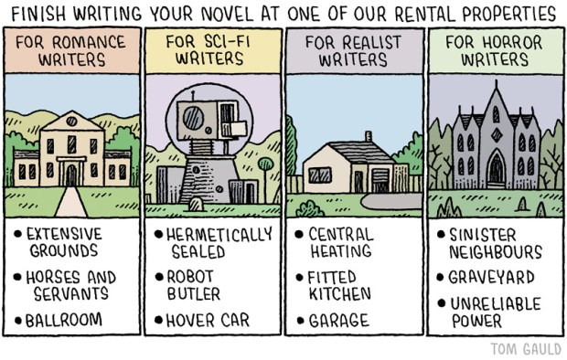 finish writing tom gauld