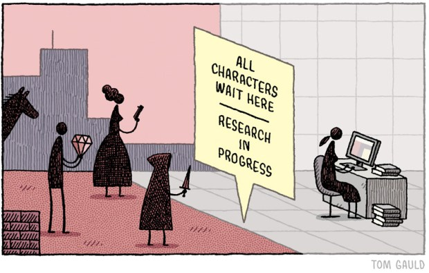 characters wait here tom gauld