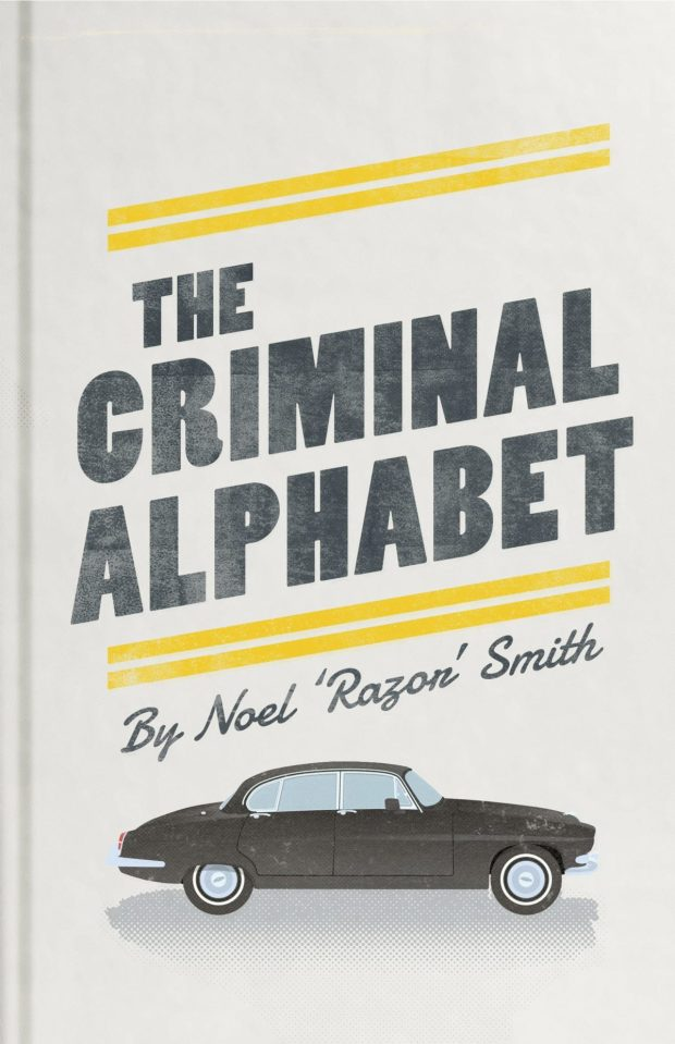 Criminal Alphabet design by Edward Bettison