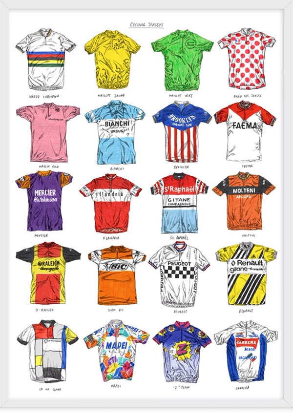 Cycling Jerseys_David Sparshott
