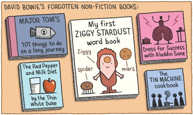 David Bowie Non-Fiction Tom Gauld
