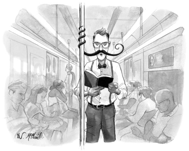 new yorker subway reading