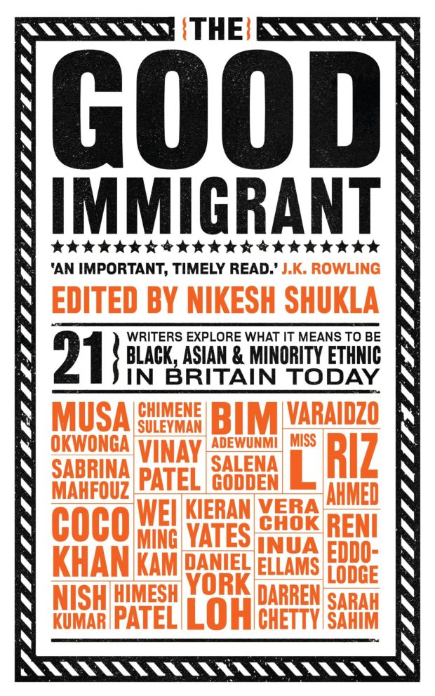 The Good Immigrant design James Paul Jones