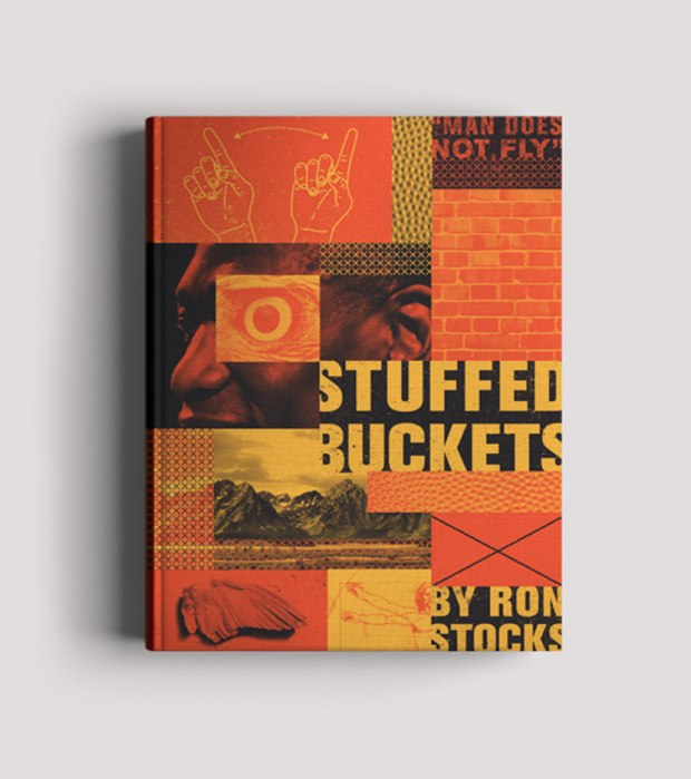 """""""Stuffed Buckets by Ron Stocks is a biography on retired NBA player and humanitarian Dikembe Mutombo. He was known for his insane blocking skills and signature finger wag. """""""