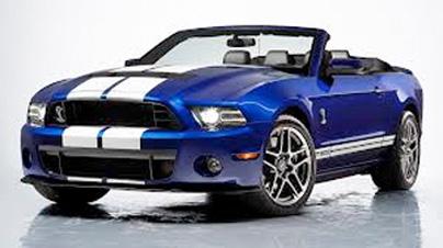 Beautiful, muscle sports car.
