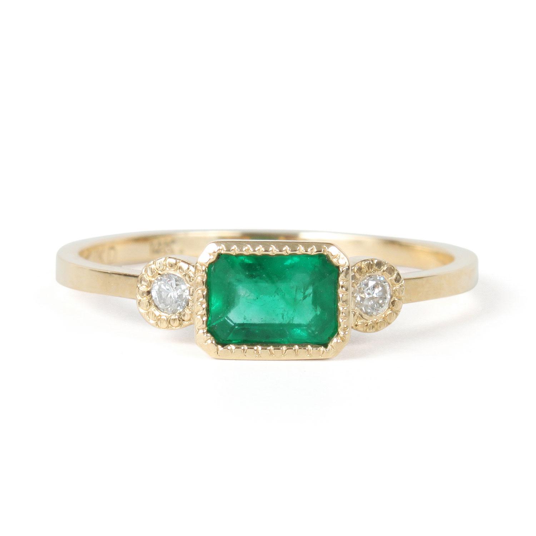 lexie emerald ring emerald wedding rings