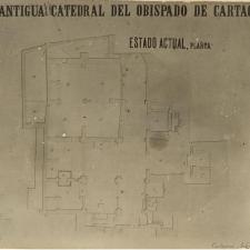 Catedral de Cartagena - Plano 1881