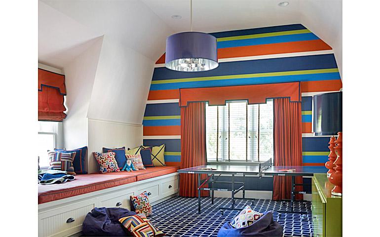 Catherine M. Austin Interior Design/ Westfield Playroom