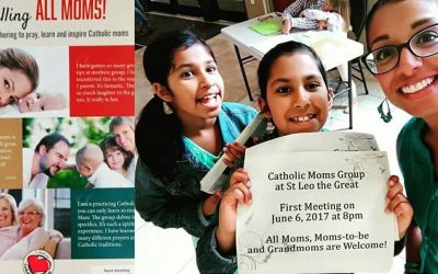 A New Mother's Group at St Leo the Great, Brooklin!