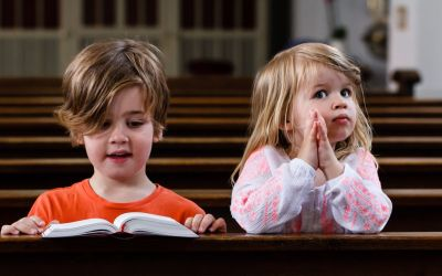 An Encouraging Word – Bring the Little Children to Mass