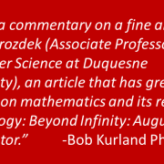 Mathematics, the Handmaiden of Theology: Augustine and Cantor on the Infinity of God