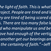 Out: Leap of Faith, In: Light of Faith