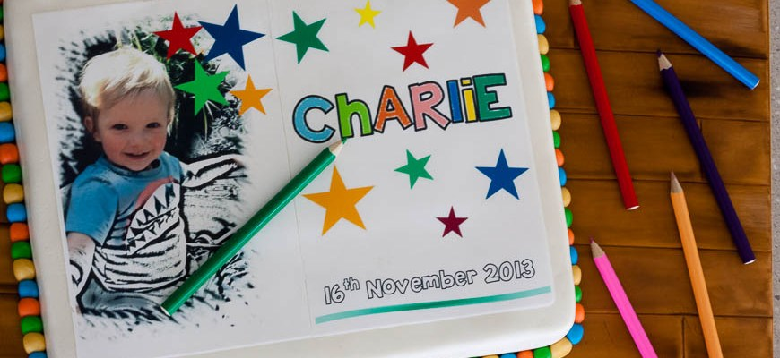 Wannabe Colouring Book Cake