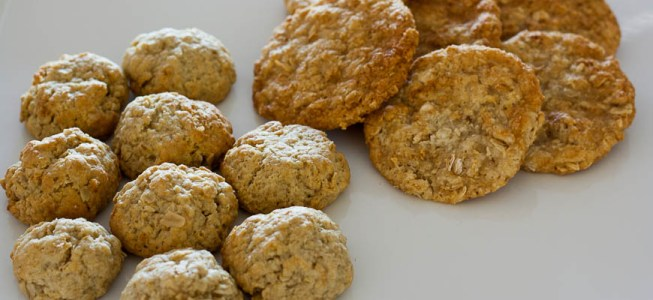 Anzac Biscuits (Two Ways)