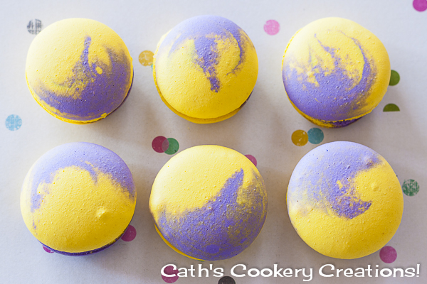 Popping Passionfruit Macarons