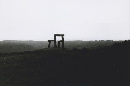 Place by Magdalena Jetelova, at Forest of Dean Sculpture Trail