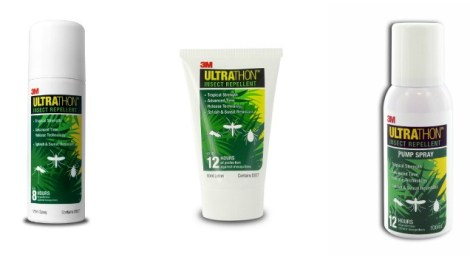 3M Ultrathon Insect repellent range