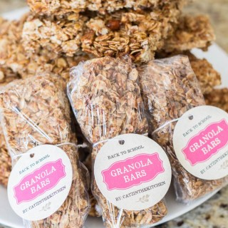 Homemade Granola Bars-8