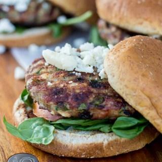 Mediterranean Turkey Burgers-2