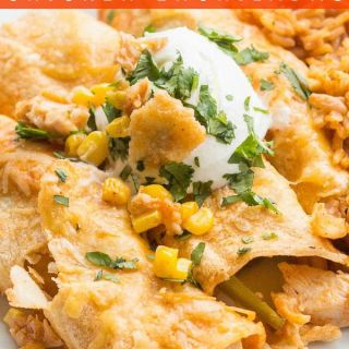 Red Chicken Enchiladas PIN