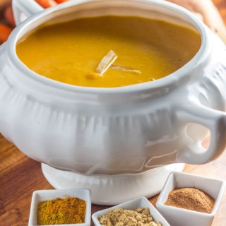 Curried Sweet Potato and Carrot Soup-6