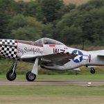 "Acidente com o Mustang ""Big Beautiful Doll"" durante o Duxford Flying Legends"