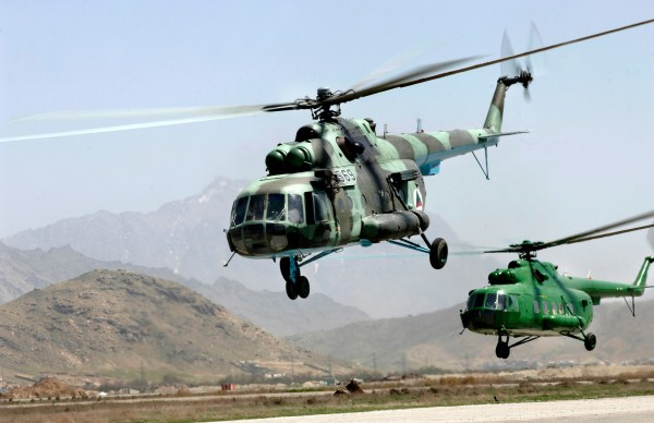 Helicóptero Mi-17 no centro de um possível escândalo de superfaturamentos...