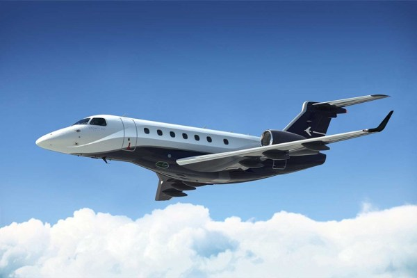 Jato executivo Embraer Legacy 500. (Foto: Embraer Executive Jets)