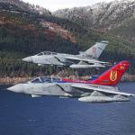 Esquadrão da RAF comemora seu centenário com Tornado GR4 especialmente pintado